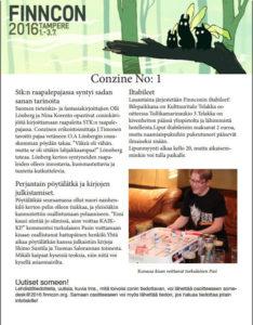 Conzine 1 kansi