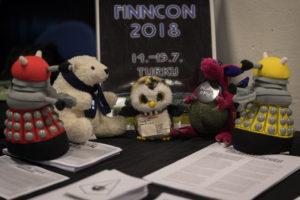 Finncon 2018 pöytä